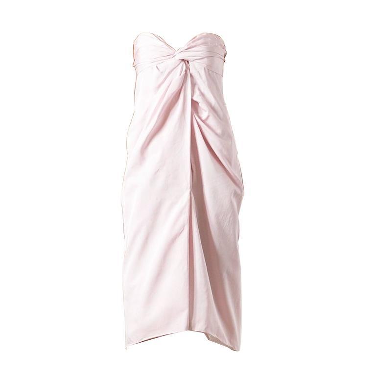 2000s Giambattista Valli light pink Dress 1