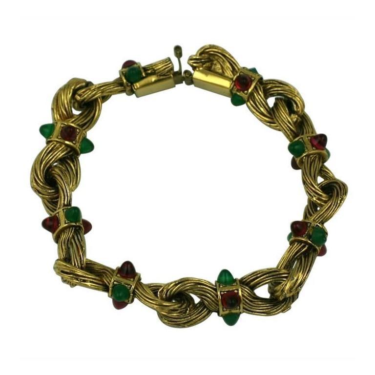 Chanel Byzatine Knot Link Bracelet 1