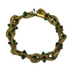 Chanel Byzatine Knot Link Bracelet