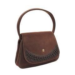 1950's Koret Brown Doeskin Bag