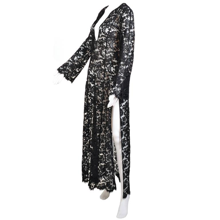 Iconic Tom Ford for Gucci Black Lace Dress