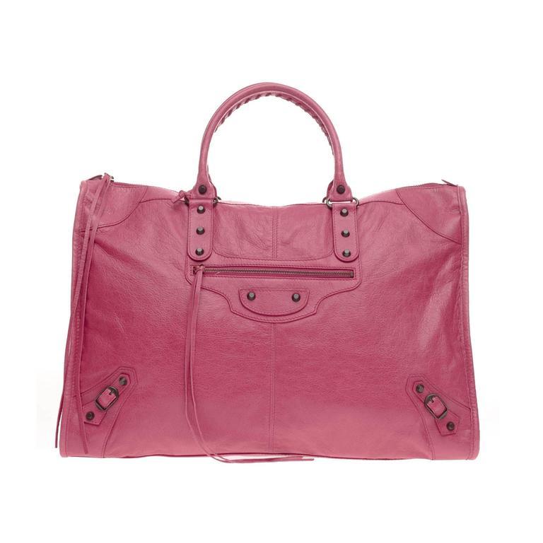 Balenciaga Weekender Classic Studs Leather  1