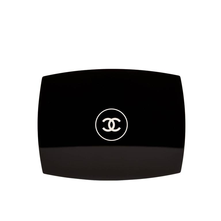 Chanel Limited Edition Black Compact Powder Minaudiere NEW For Sale