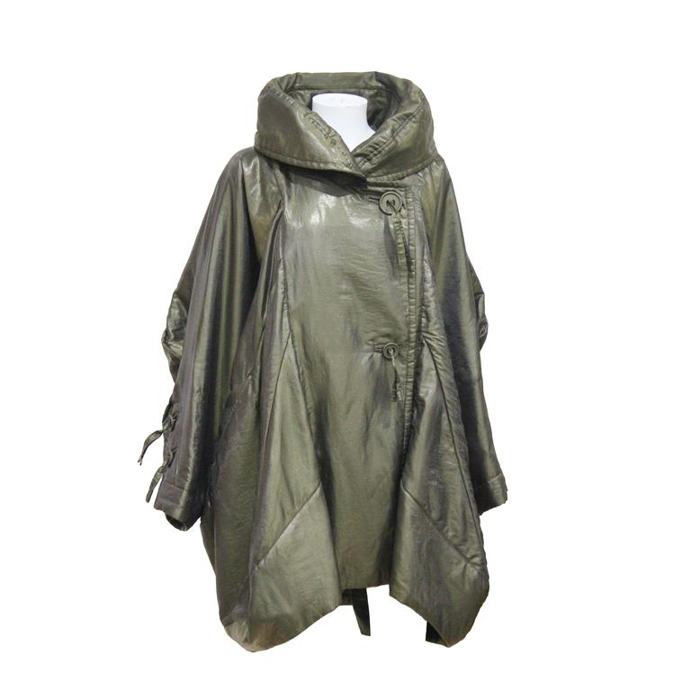 1990s Issey Miyake cocoon coat  1