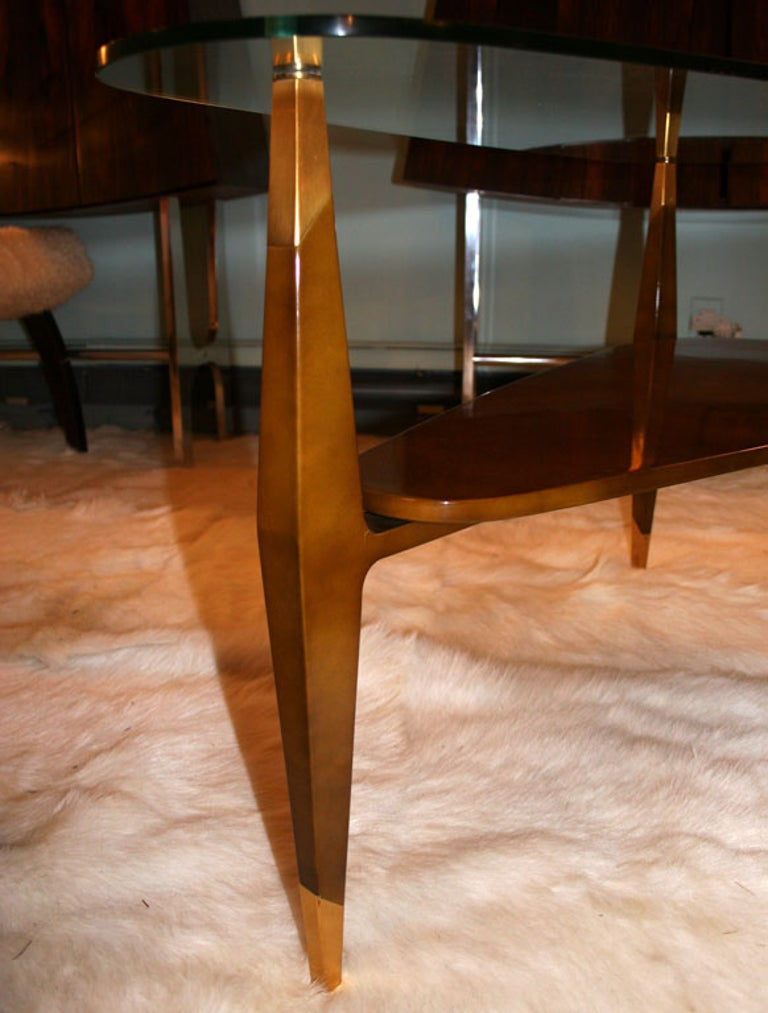 20th Century Raphael Triangular Coffee Table For Sale