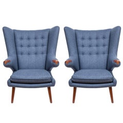 Pair of Pavel Wingback Armchairs