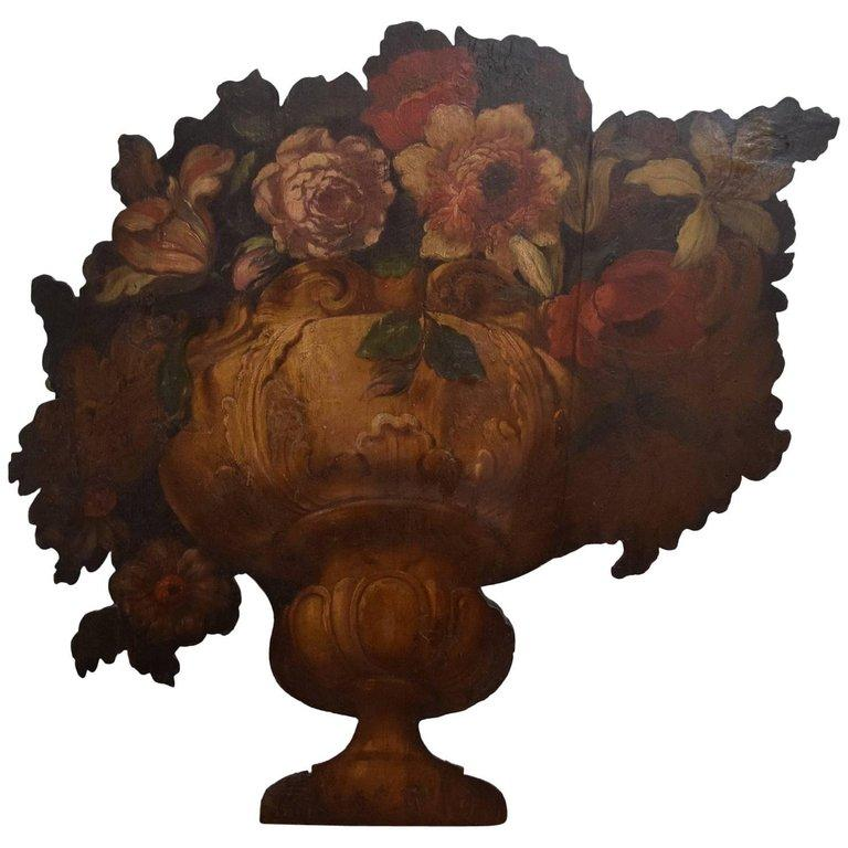 Italian Trompe l'Oeil Dummy Board For Sale