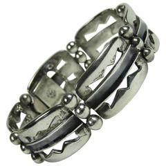 William Spratling Mexican Sterling Silver Bracelet