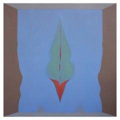 Large Bold Abstract David Folkman Painting