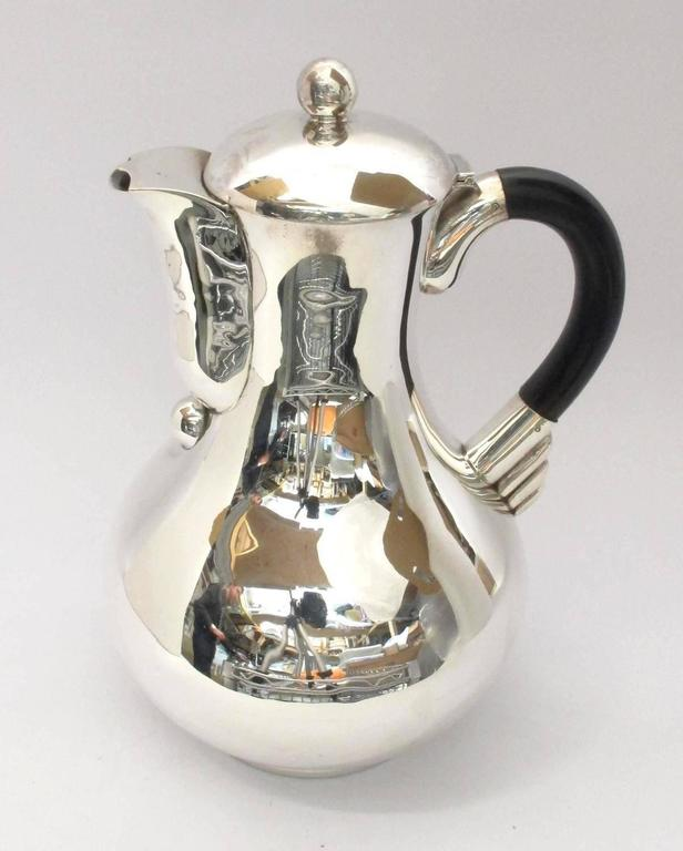 1950s Hector Aguilar Silver Tea And Coffee Set For Sale At