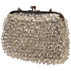 "Vintage ""Richere"" Beaded and Sequined Hand Bag by, Walborg-Hong Kong"