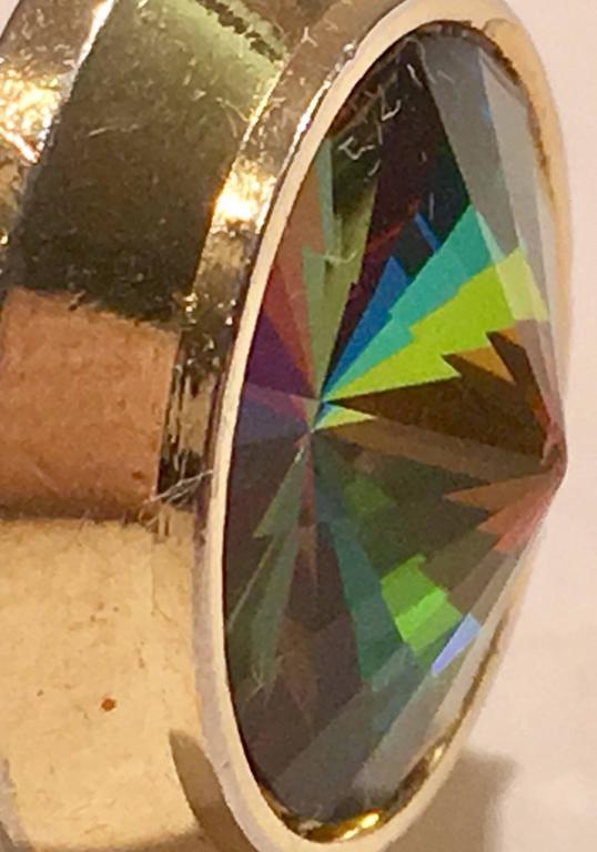 Women's or Men's Mid-Century Crystal