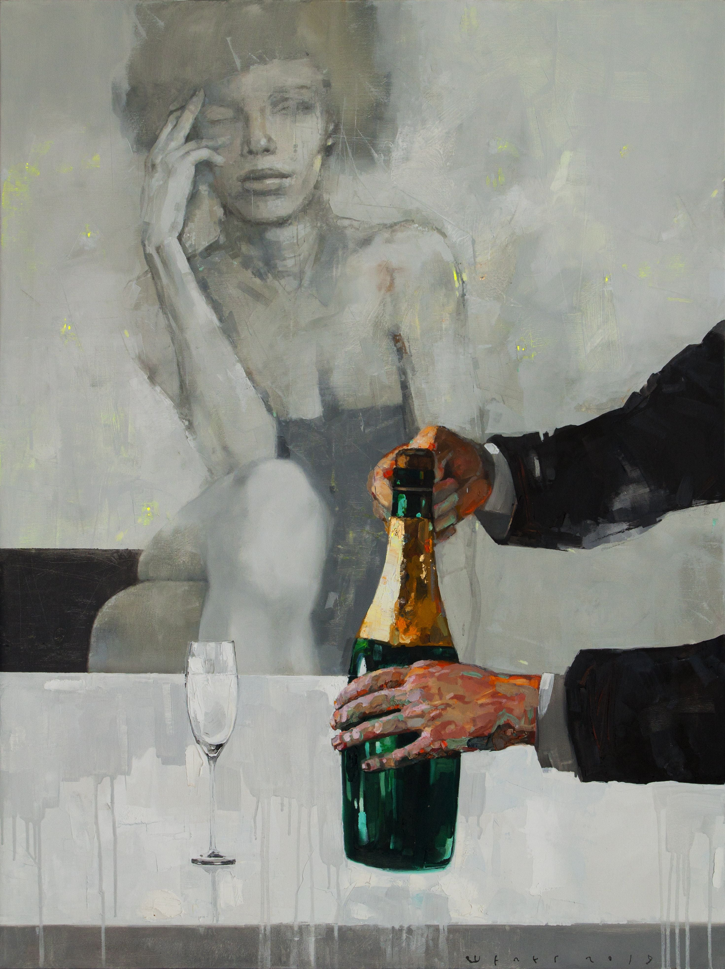 Brut, Painting, Oil on Canvas