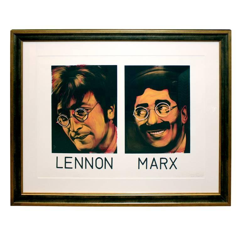 Ron English - Lennon and Marx 1