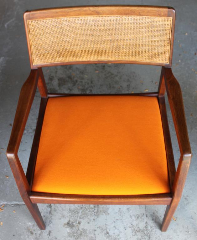 Pair of Jens Risom Armchairs 9