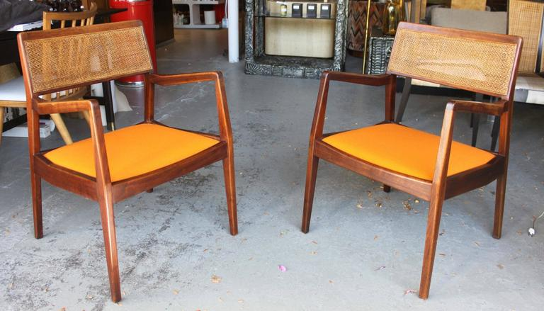 Pair of Jens Risom Armchairs 2