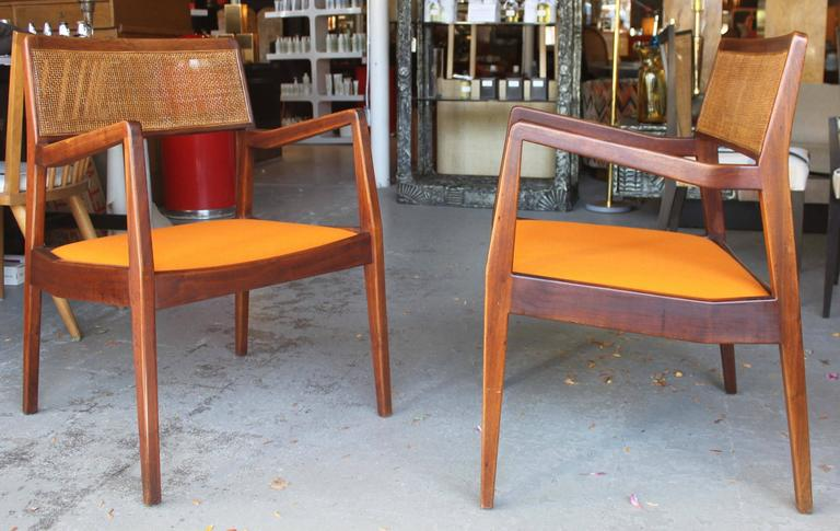 Pair of Jens Risom Armchairs 3