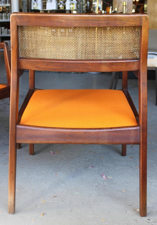 Pair of Jens Risom Armchairs 4
