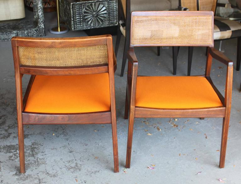 Pair of Jens Risom Armchairs 8
