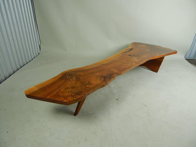 Walnut Coffee Table by George Nakashima 8