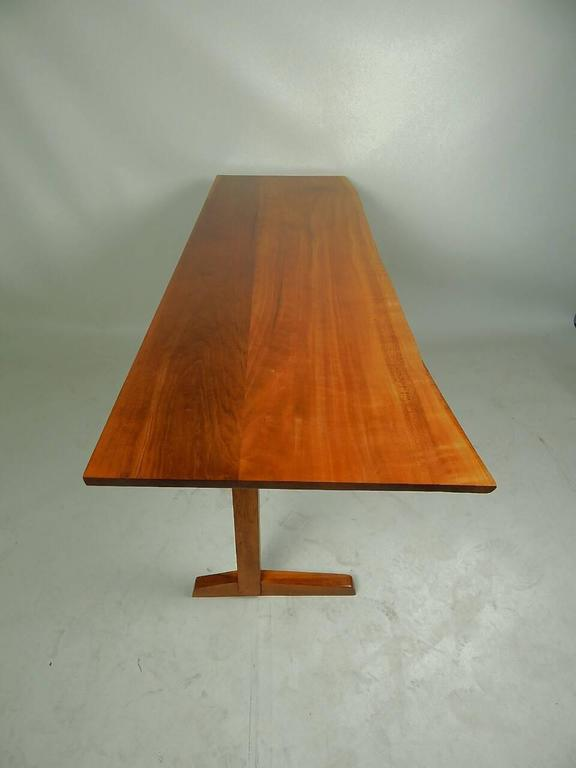 Mid-Century Modern Cherry Desk by George Nakashima For Sale