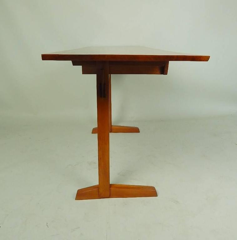 Hand-Crafted Cherry Desk by George Nakashima For Sale