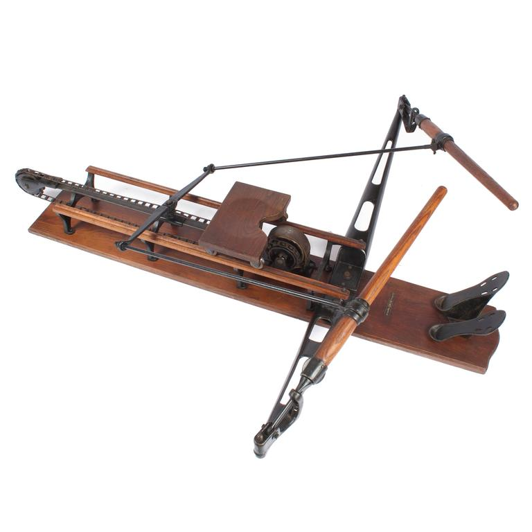 1920 Spalding Rowing Machine, Sporting Equipment