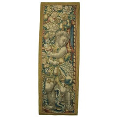 Antique Brussels Baroque Tapestry