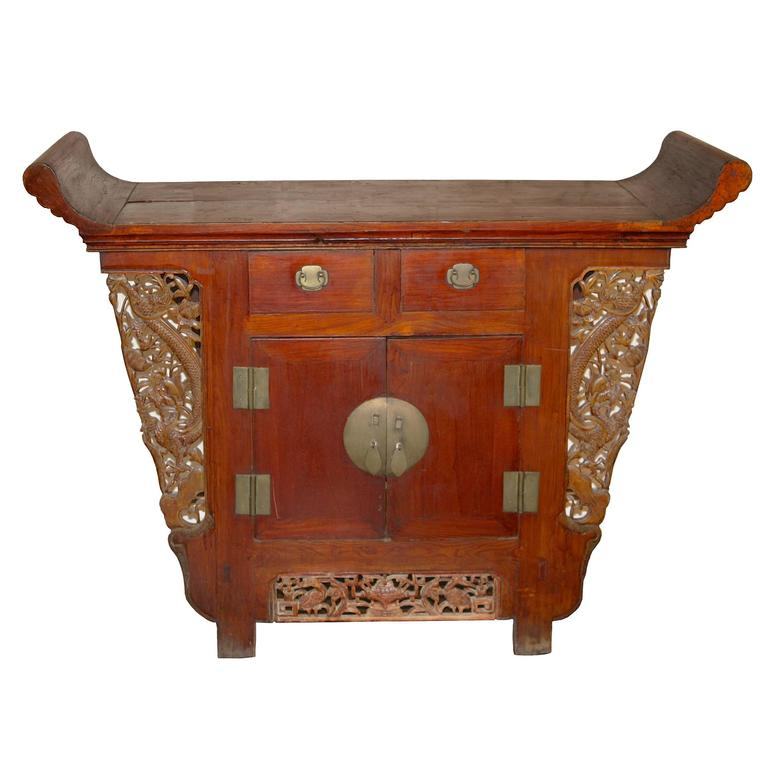 Chinese Tongzhi Altar Cabinet For Sale
