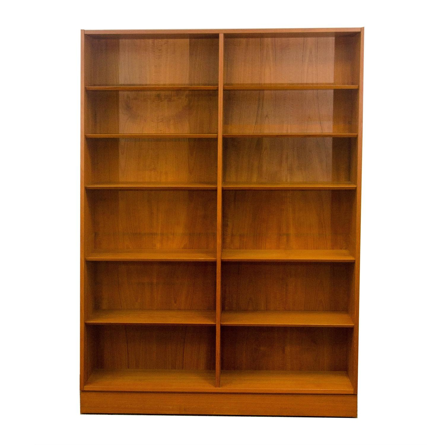 Danish Teak Bookcase Or Bookshelf By Poul Hundevad At 1stdibs