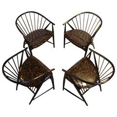 Set of Four Sonna Rosen 'Sulfjadern' Chairs