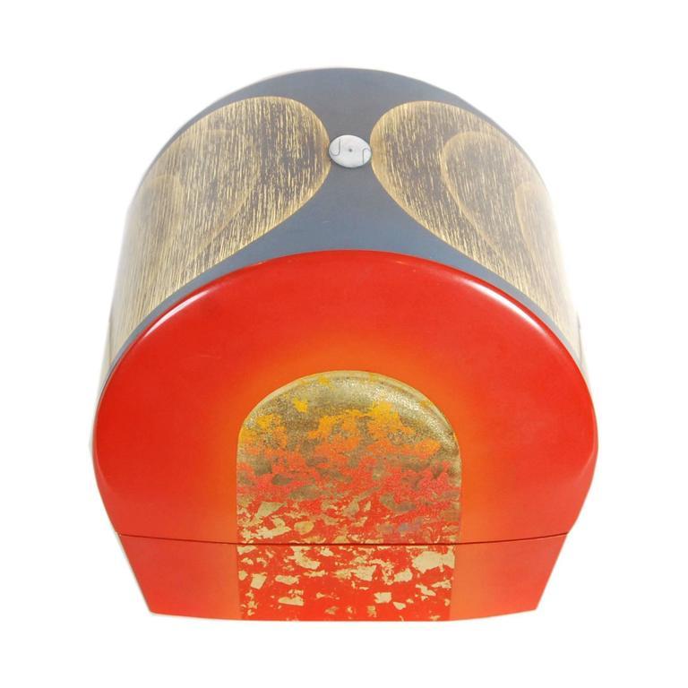 Contemporary Japanese Lacquer Box by Yoshifumi Takeuchi
