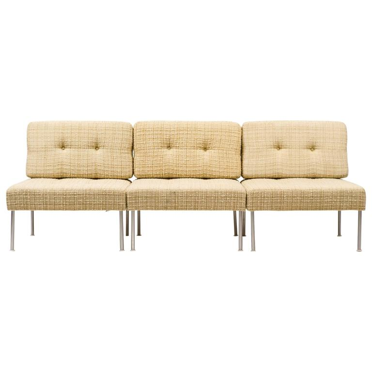 Poul Cadovius Steel Frame U0027Revoltu0027 Sectional Sofa For France ...