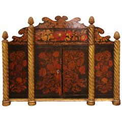 Regency Painted Cabinet, 19th Century