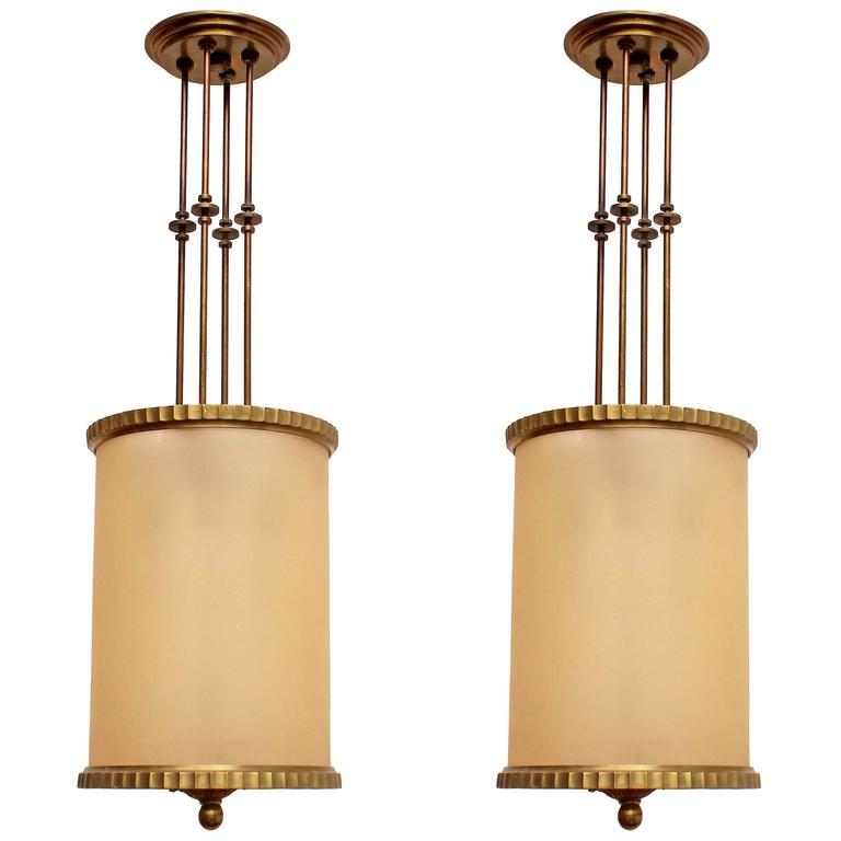 Art Deco Pendant Lights For Sale