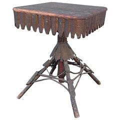 Adirondack Twig and Bark Table