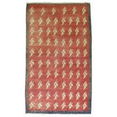 Vintage Turkish Konya Carpet