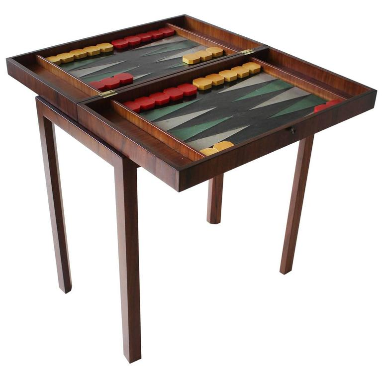 Tommi Parzinger Backgammon Table 1