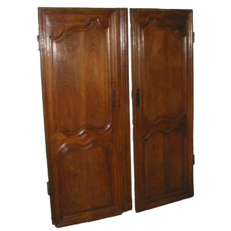 Doors Pair of Early  19th Century Oak