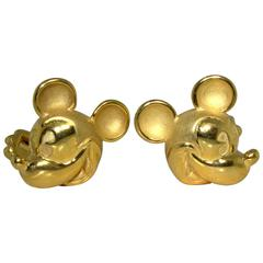 Jose Hess Disney Mickey Mouse Cufflinks