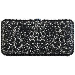 Chanel Pearl Embroidered Clutch from Pre-Fall 2014