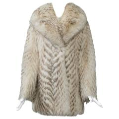 Long Haired Fur Jacket
