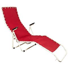 Red Lounge Chair from Everest, 1950s