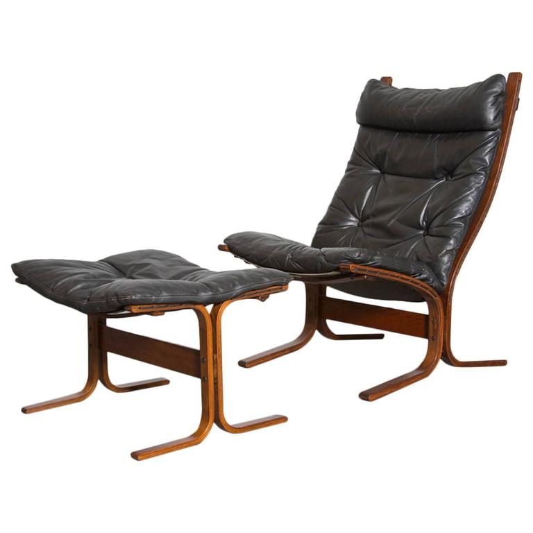 Westnofa Quot Siesta Quot Lounge Chair And Ottoman At 1stdibs
