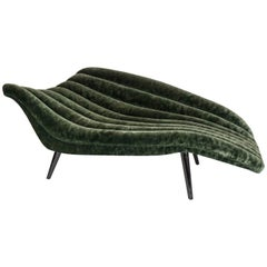 Elegant Modern Chaise Lounge by Lost City Arts