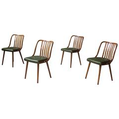 "Set of Four ""Bistro"" Chairs Attributed to Josef Frank"