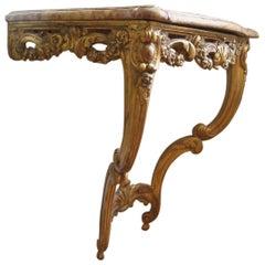 18th Century Console, Louis XV Period