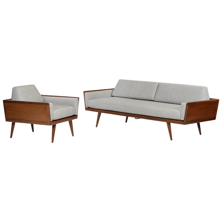 Sofa And Lounge Chair By Mel Smilow For Smilow Thielle For Sale