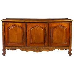 19th Century Provincial Walnut Sideboard
