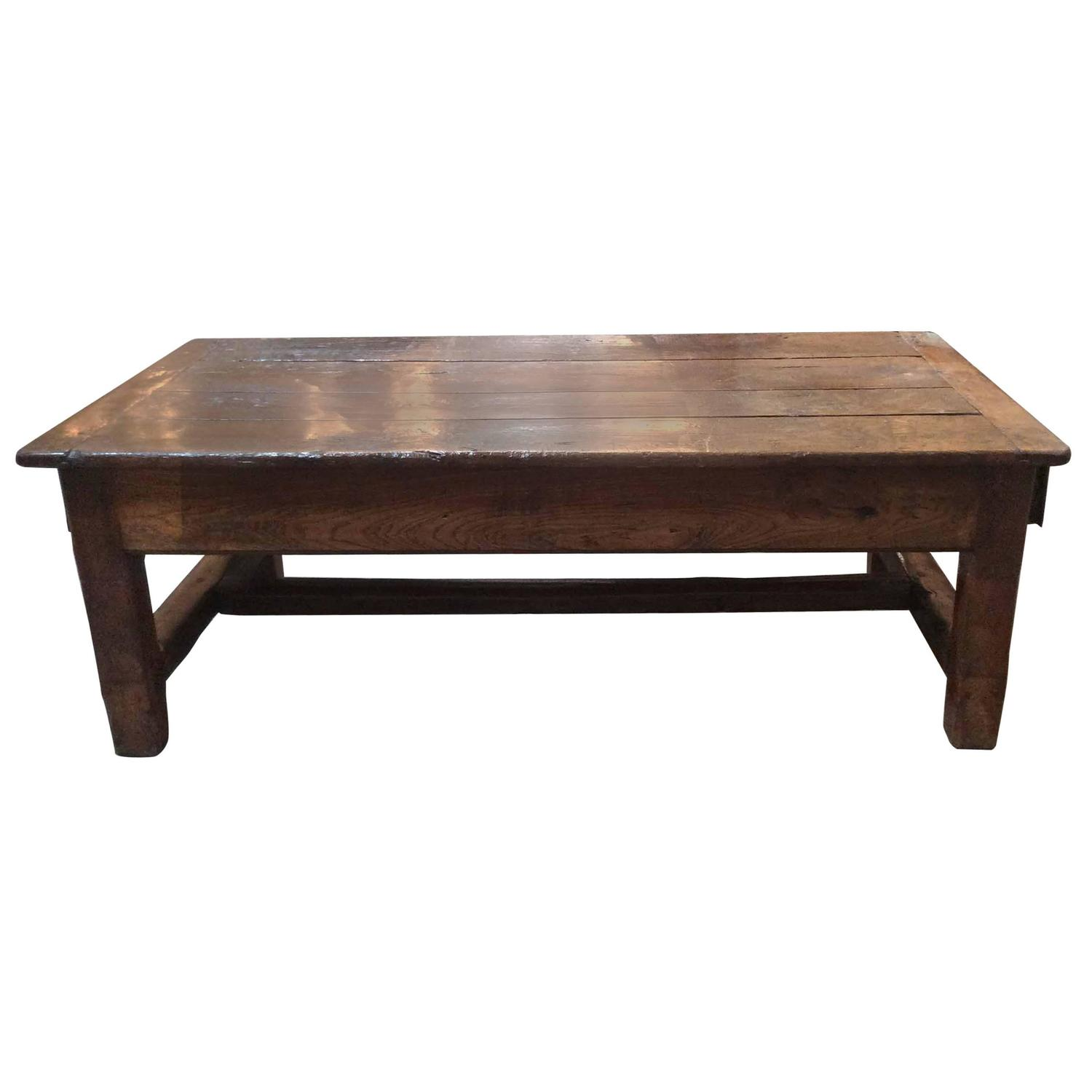 Antique French Farm Table at 1stdibs